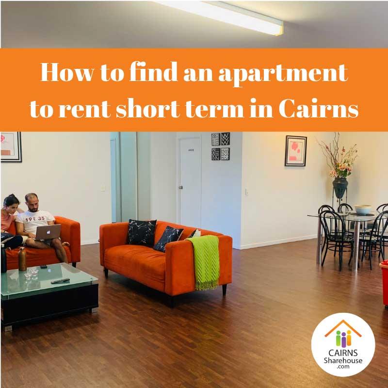 Short term rentals in Cairns
