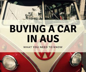 Buying a car in Australia – What you need to know